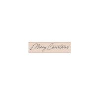 Hero Arts - Wood Mounted Stamps - Handwritten Merry Christmas