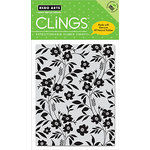 Hero Arts - Clings - Repositionable Rubber Stamps - Flowing Flowers and Leaves, CLEARANCE