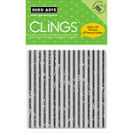 Hero Arts - Clings - Repositionable Rubber Stamps - Canvas Stripes