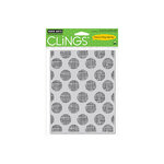 Hero Arts - Clings - Repositionable Rubber Stamps - Line Dots