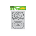 Hero Arts - Clings - Repositionable Rubber Stamps - Just Because