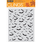Hero Arts - Clings - Halloween - Repositionable Rubber Stamps - Bat Background