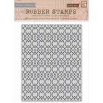 Hero Arts - BasicGrey - Highline Collection - Repositionable Rubber Stamps - Ironwork Background