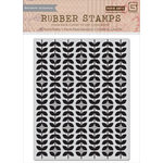 Hero Arts - BasicGrey - Grand Bazaar Collection - Repositionable Rubber Stamps - Gratitude Background