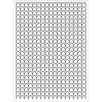 Hero Arts - BasicGrey - Repositionable Rubber Stamps - Waves Background