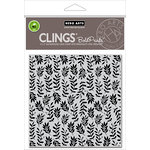 Hero Arts - Spring Collection - Clings - Repositionable Rubber Stamps - Foliage Bold Prints