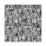 Hero Arts - Clings - Repositionable Rubber Stamps - Forest And Deer Bold Prints
