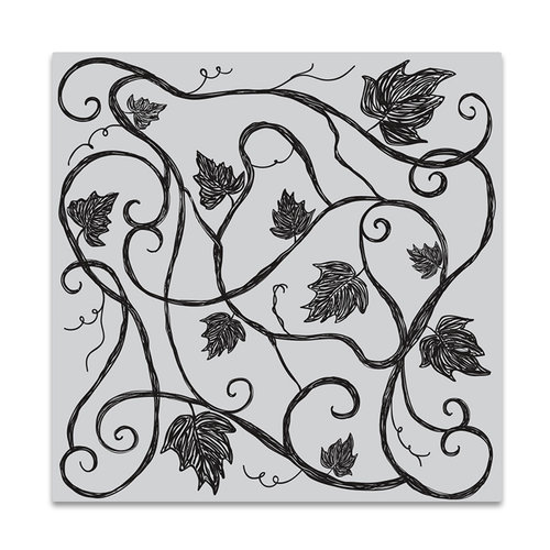 Hero Arts - Clings - Repositionable Rubber Stamps - Vine Pattern Bold Prints