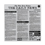 Hero Arts - Clings - Repositionable Rubber Stamps - Newspaper Bold Prints