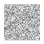 Hero Arts - Clings - Repositionable Rubber Stamps - Abstract Wave Bold Prints