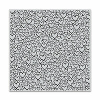 Hero Arts - Clings - Repositionable Rubber Stamps - Bursting with Love Bold Prints