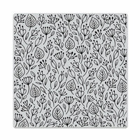 Hero Arts - Clings - Repositionable Rubber Stamps - Flower Garden Bold Prints