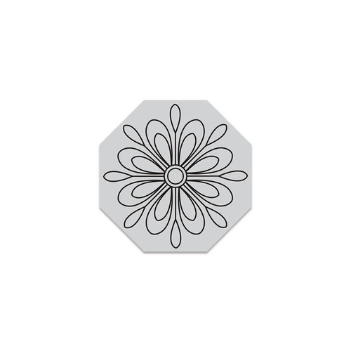 Hero Arts - Hero Florals - Clings - Repositionable Rubber Stamps - Color Me Flower Cling