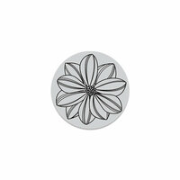 Hero Arts - Hero Florals - Clings - Repositionable Rubber Stamps - Overlapping Petals Cling