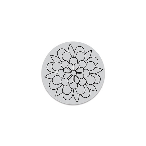 Hero Arts - Hero Florals - Clings - Repositionable Rubber Stamps - Outline Bloom Cling