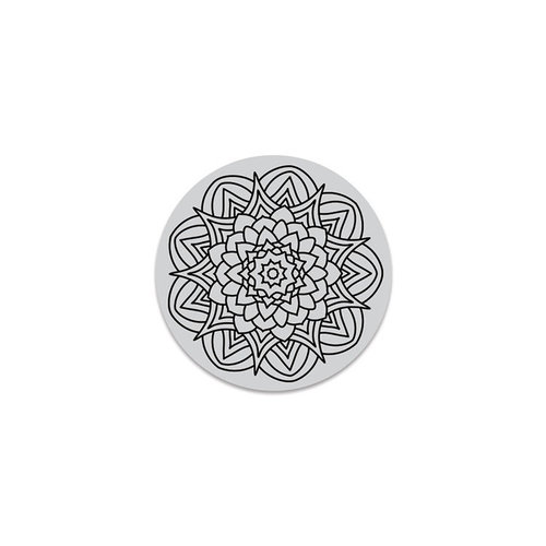 Hero Arts - Hero Florals - Clings - Repositionable Rubber Stamps - Kaleidoscope Flower Cling