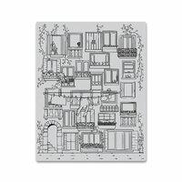 Hero Arts - Clings - Repositionable Rubber Stamps - Venetian Neighborhood
