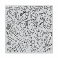 Hero Arts - Repositionable Rubber Stamps - Crafting Tools Bold Prints