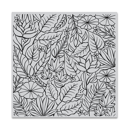 Hero Arts - Clings - Repositionable Rubber Stamps - Jungle Bold Prints