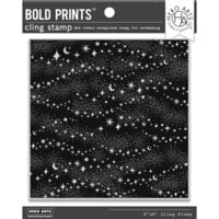 Hero Arts - Clings - Repositionable Rubber Stamps - Milky Way Bold Prints