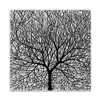 Hero Arts- Clings - Repositionable Rubber Stamps - Bare Branched Tree Bold Prints