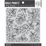 Hero Arts - Clings - Repositionable Rubber Stamps - Bold Prints - Hibiscus Flowers