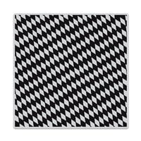 Hero Arts - Clings - Repositionable Rubber Stamps - Slanted Checkerboard Bold Prints