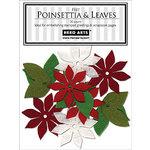 Hero Arts - Felt Shapes - Christmas - Poinsettia and Leaves