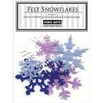 Hero Arts - Felt Shapes - Christmas - Snowflakes