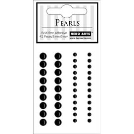 Hero Arts - Accent Pearls - Midnight Black