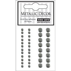 Hero Arts - Hero Hues - Bling - Metallic Decor - Silver, CLEARANCE