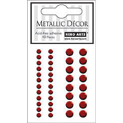 Hero Arts - Hero Hues - Bling - Metallic Decor - Red