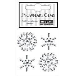 Hero Arts - Bling - Christmas - Adhesive Gems - Snowflake