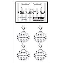 Hero Arts - Bling - Christmas - Adhesive Gems - Ornament