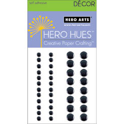 Hero Arts - Hero Hues - Bling - Metallic Decor - Black
