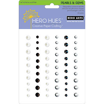 Hero Arts - Hero Hues - Pearls and Gems - Neutrals Mixed Accents, CLEARANCE