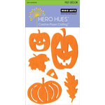 Hero Arts - Hero Hues - Self Adhesive Felt Decor - Orange Halloween, CLEARANCE