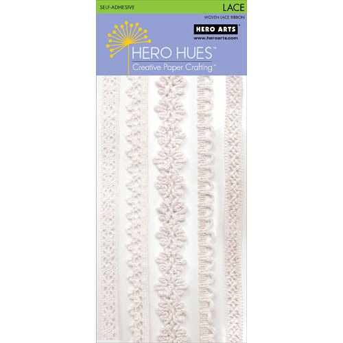Hero Arts - Hero Hues - Self Adhesive Lace - White