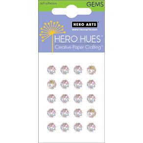 Hero Arts - Hero Hues - Bling - Prism Gems - 7 mm - Diamond, CLEARANCE
