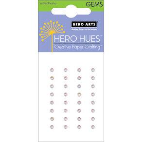Hero Arts - Hero Hues - Bling - Prism Gems - 4 mm - Diamond, CLEARANCE