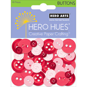 Hero Arts - Hero Hues - Mixed Buttons - Blush