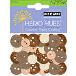 Hero Arts - Hero Hues - Mixed Buttons - Earth