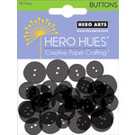 Hero Arts - Hero Hues - Card Buttons - Solid Black