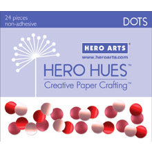 Hero Arts - Hero Hues - Bling - Dots - Blush