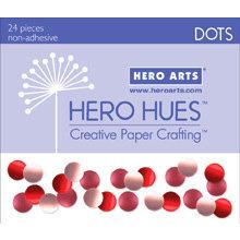 Hero Arts - Hero Hues - Bling - Dots - Blush