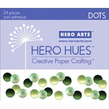 Hero Arts - Hero Hues - Bling - Dots - Foliage
