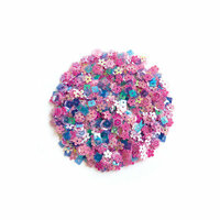 Hero Arts - Sequins - Pink Pop Flowers