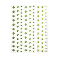 Hero Arts - Hero Hues - Self Adhesive Enamel Dots - Greens