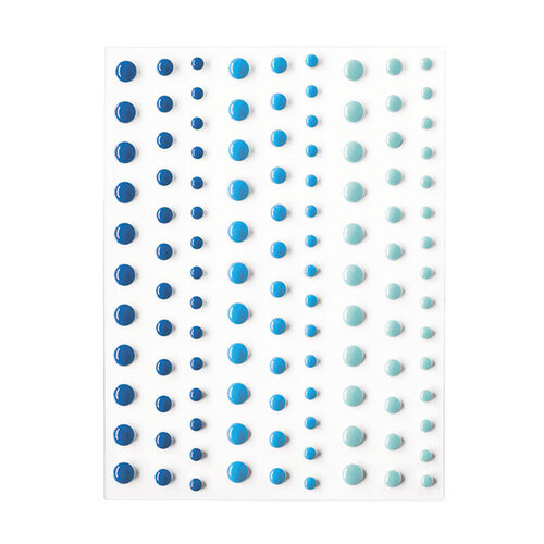 Hero Arts - Hero Hues - Self Adhesive Enamel Dots - Blues
