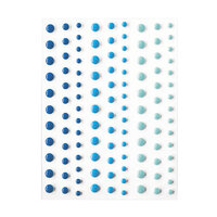 Hero Arts - Hero Hues - Self Adhesive Enamel Dots - Blues